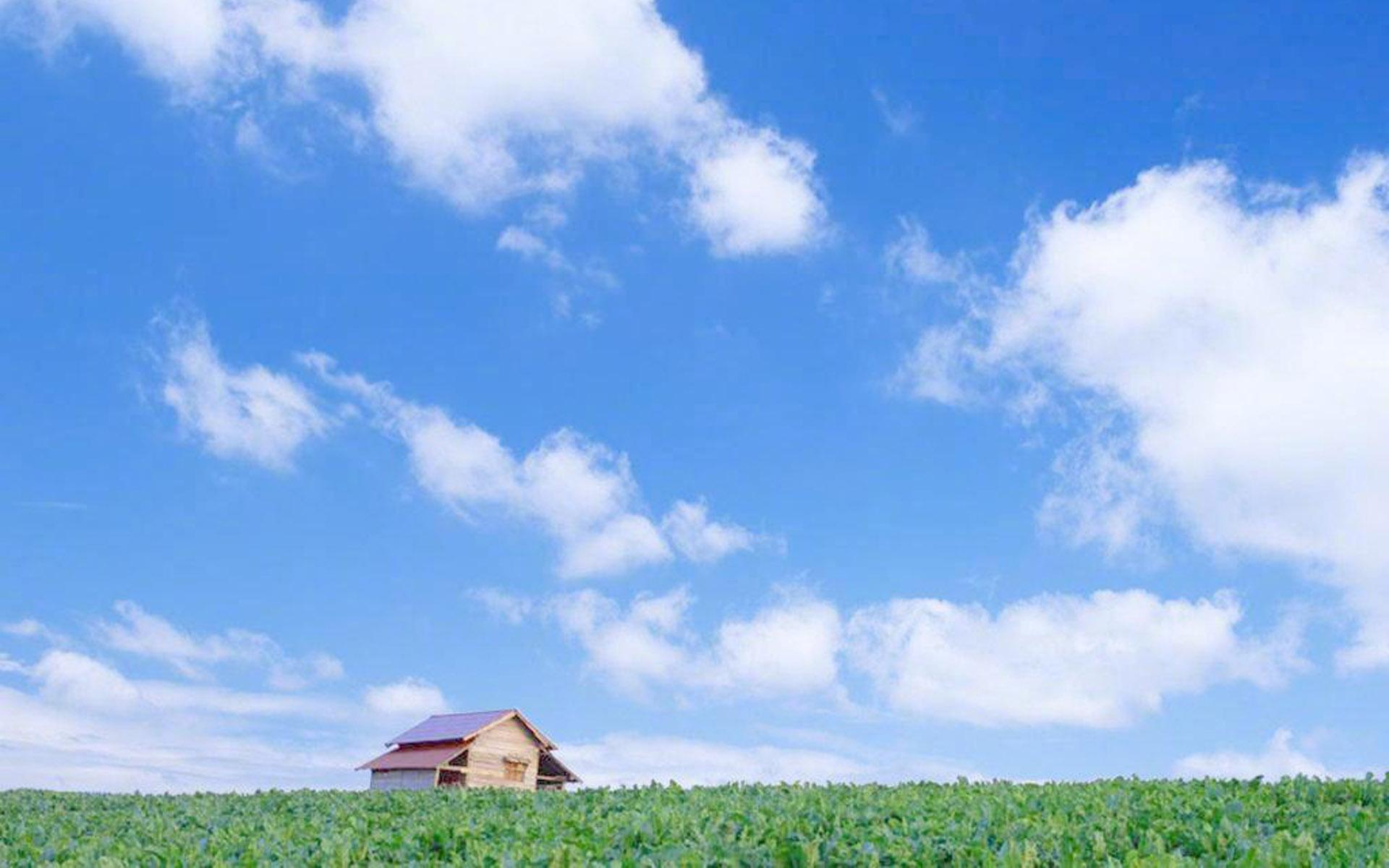 高清蓝天白云大自然风景搜狗桌面壁纸大全