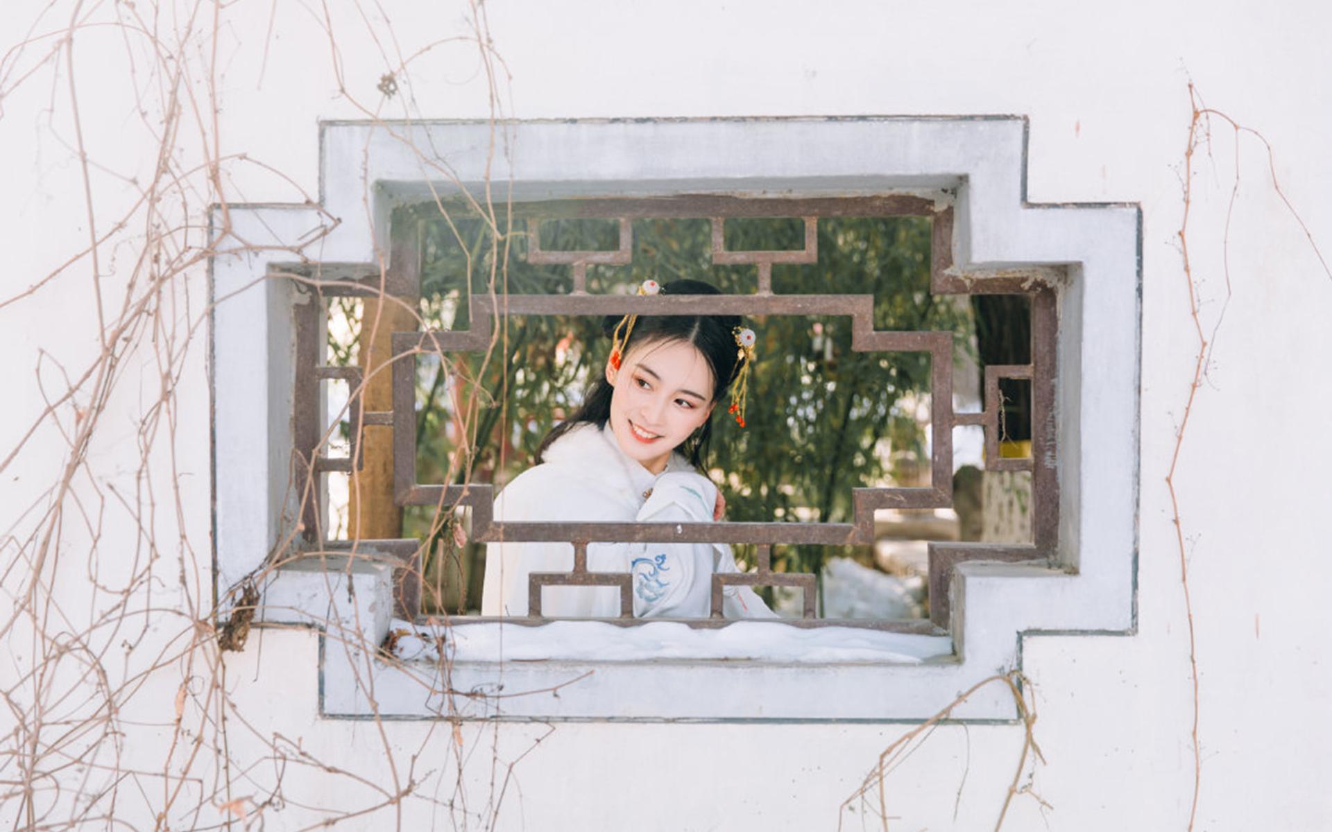 中国古典美女头像图片苹果电脑宽屏壁纸