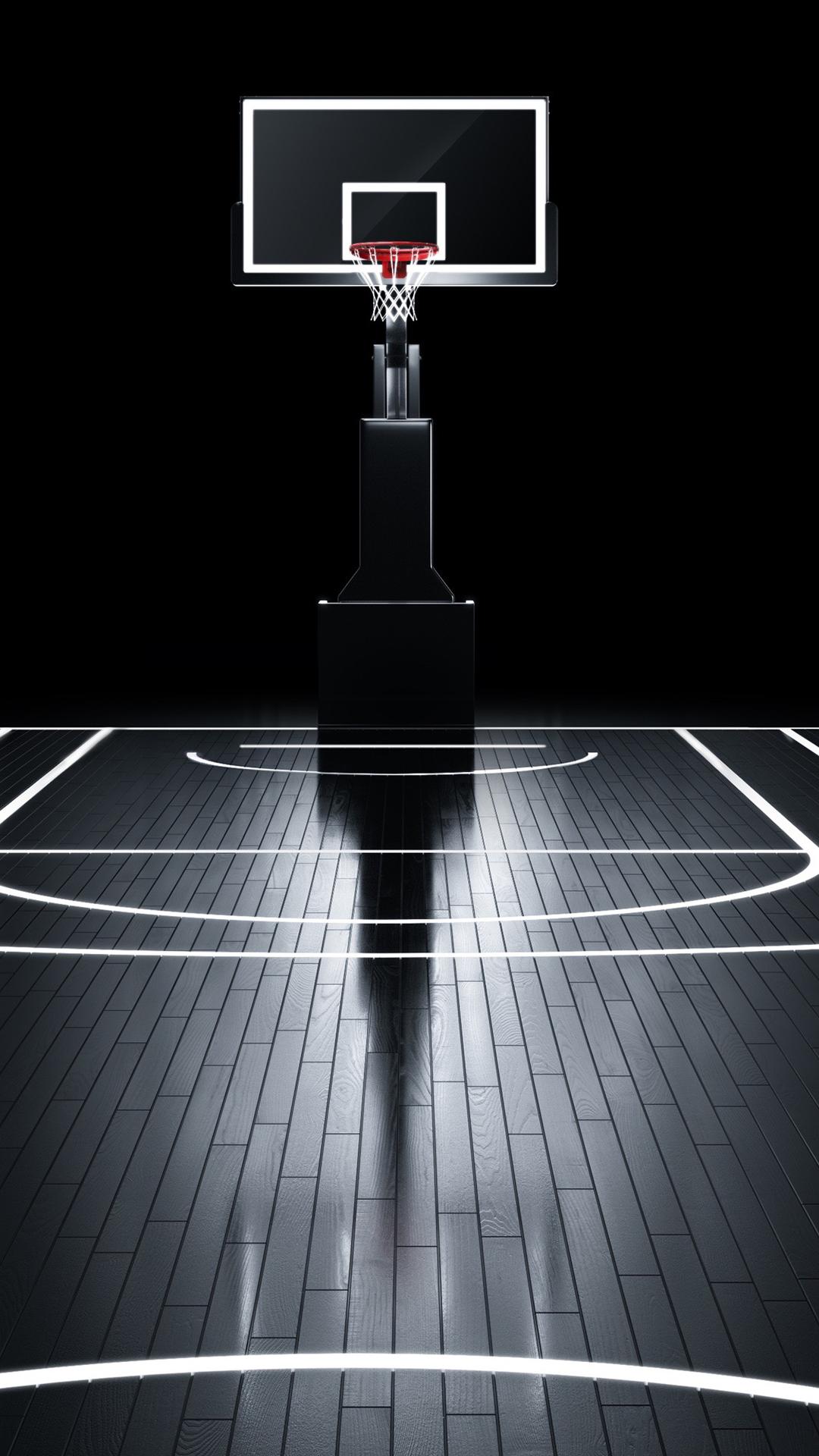 后现代风格街头篮球高清手机桌面壁纸