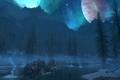 夜晚的漫天星空高清风景壁纸图片