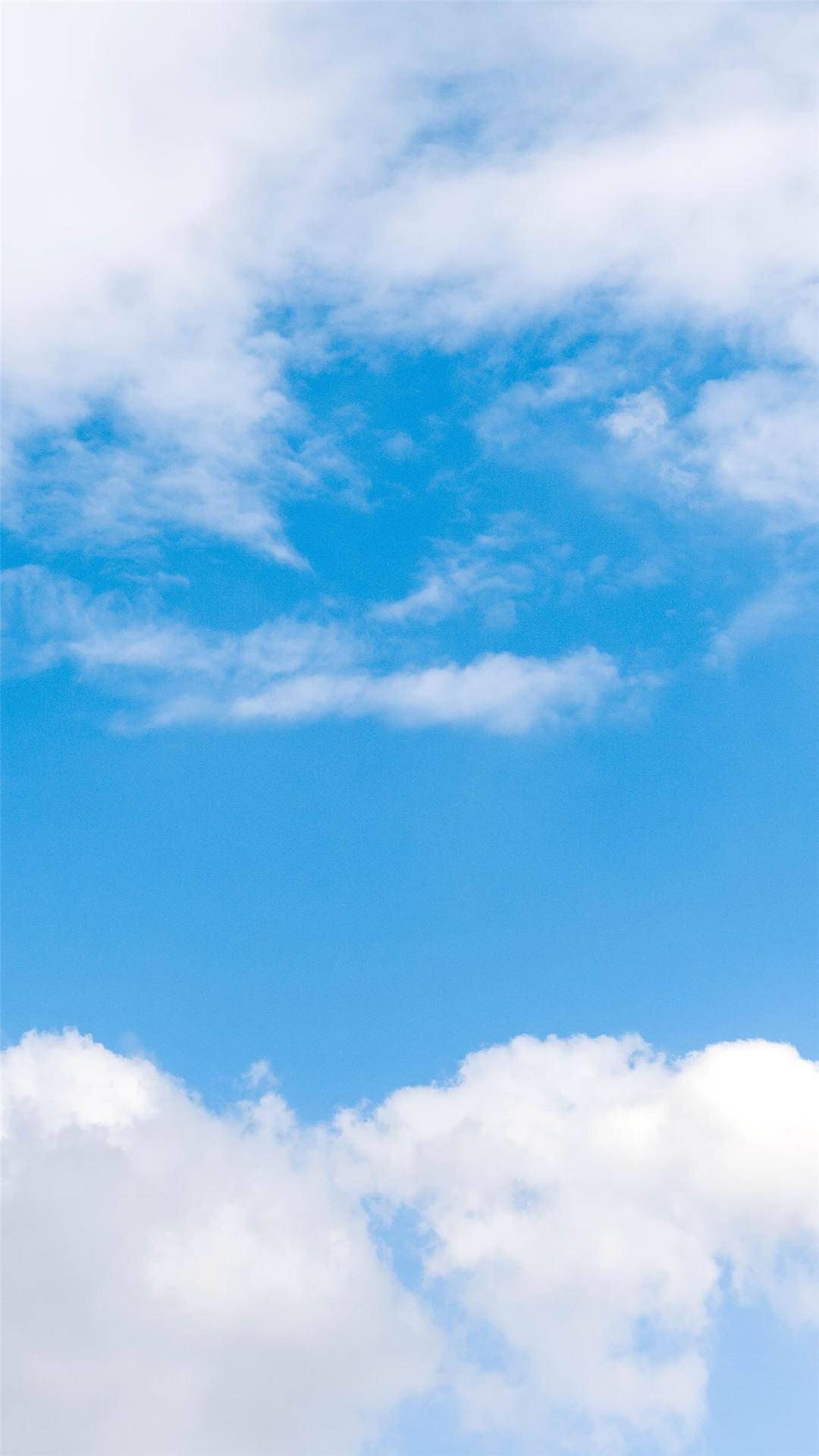 蓝天白云风景图片苹果手机动态壁纸