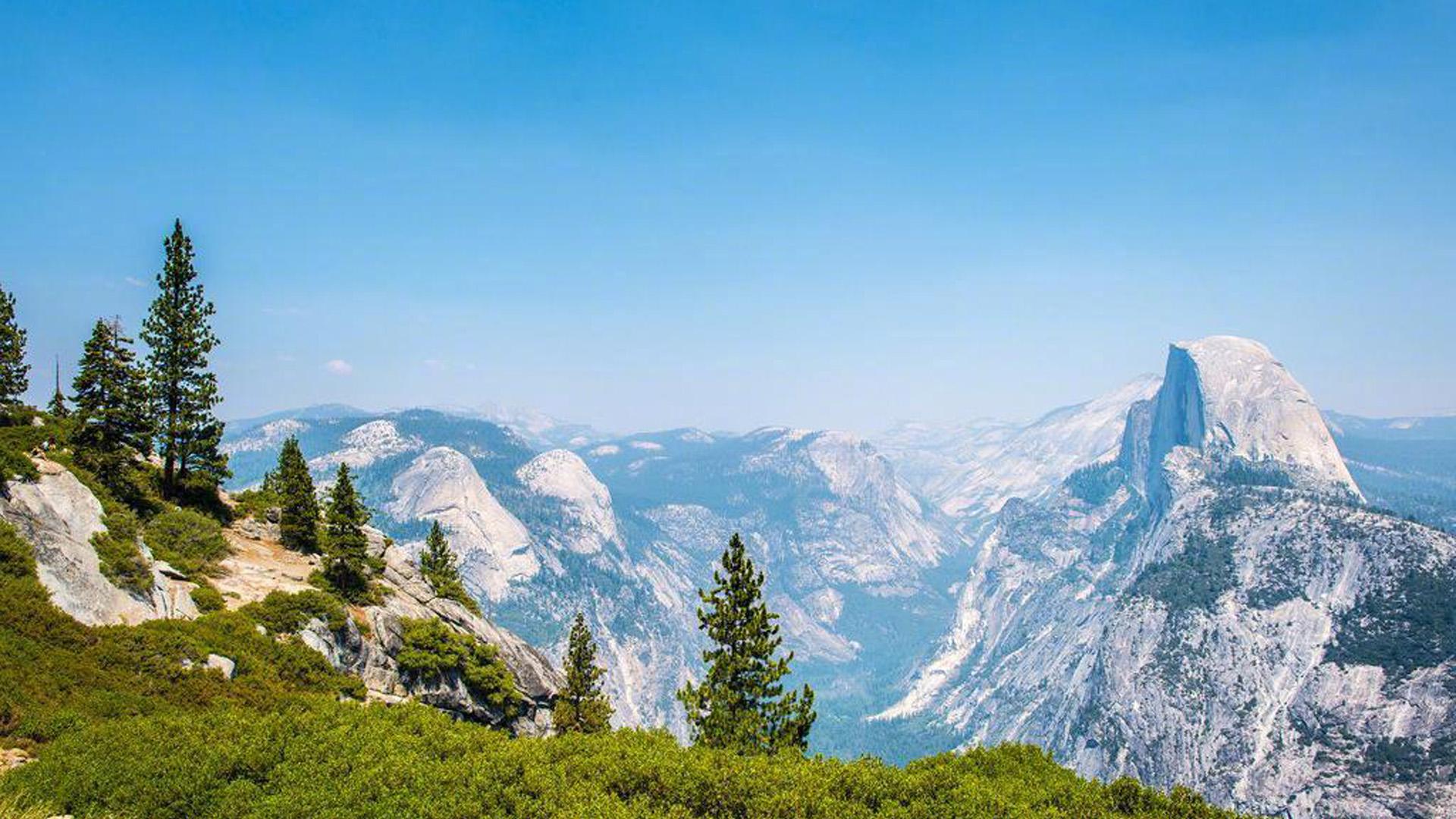 最高的山峰风景图片电脑桌面壁纸全屏