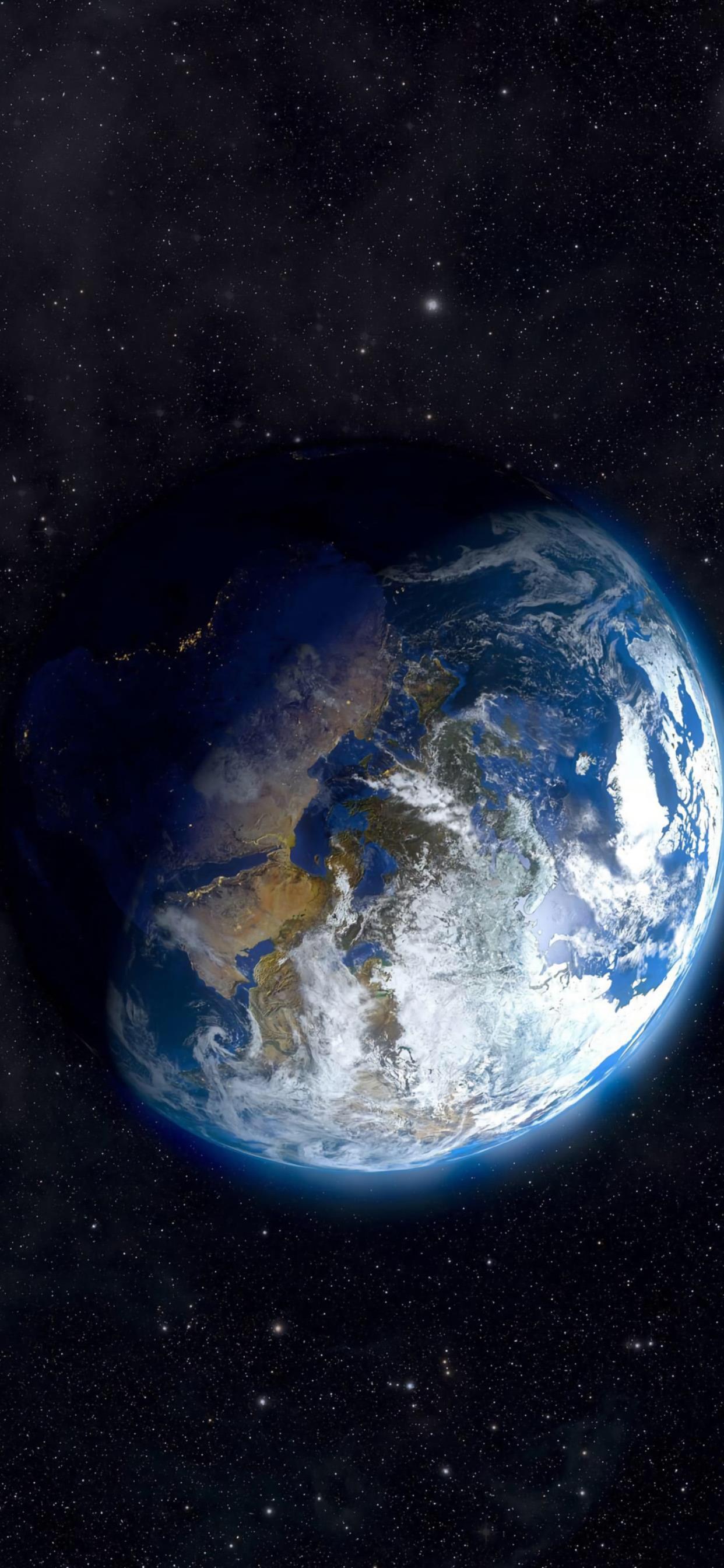 地球的形状微距摄影oppo手机壁纸大全