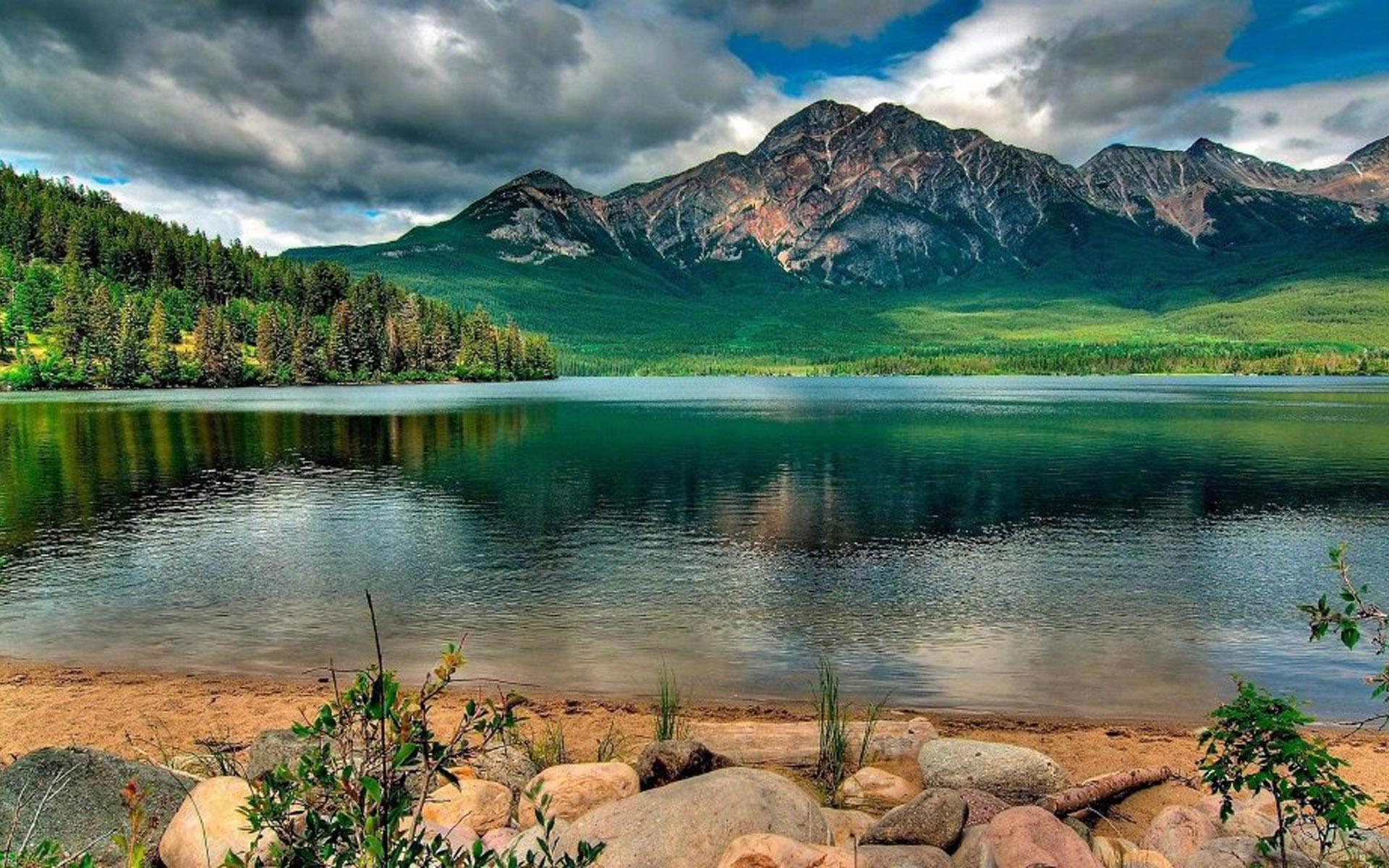中国十大湖泊风景护眼桌面壁纸高清
