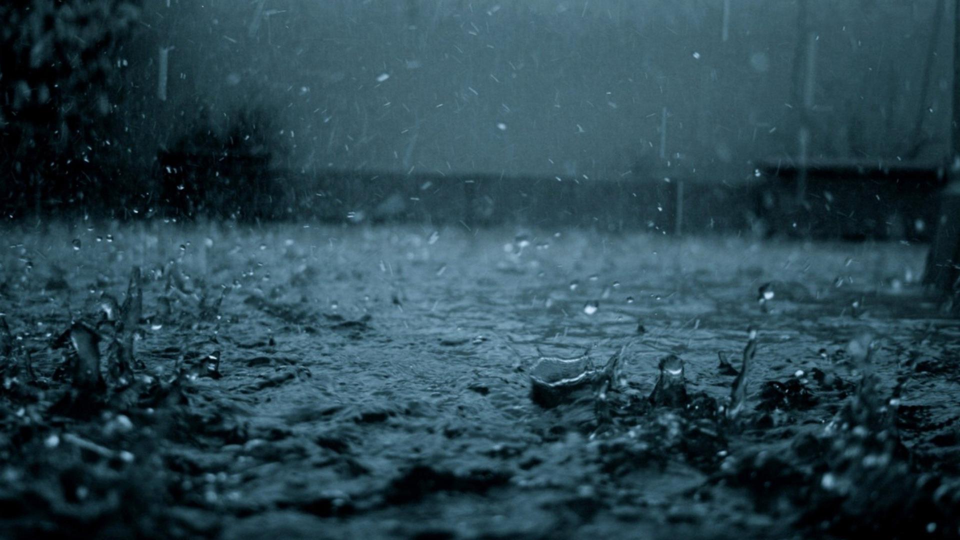 水滴下落风景图片保护眼睛的桌面壁纸