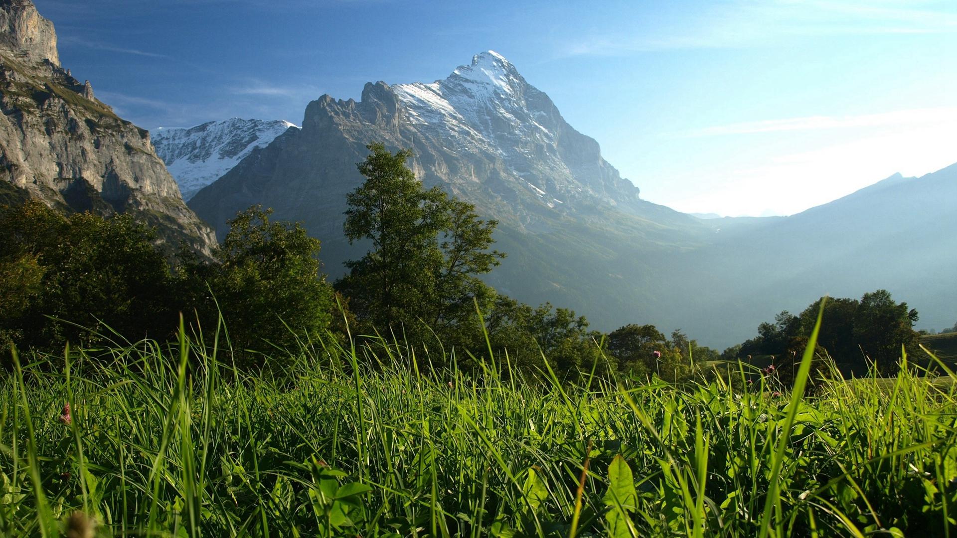 美丽清秀山间风光大自然美景高清唯美电脑壁纸合集