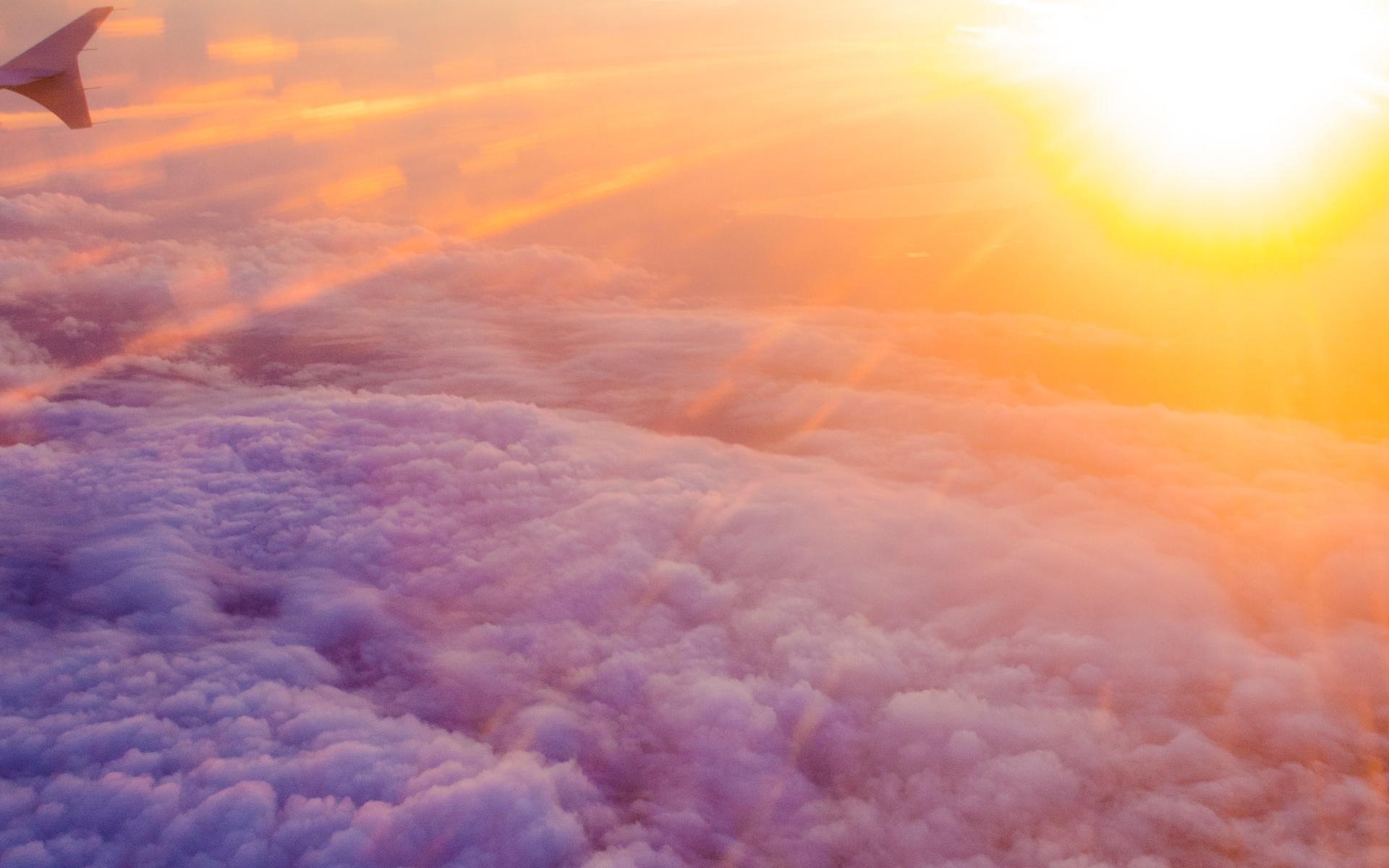 优美炫彩日落风景高清手机护眼壁纸