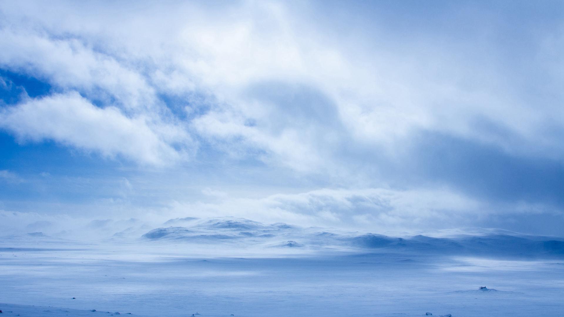 海边粉紫色天空浪漫唯美风景高清壁纸