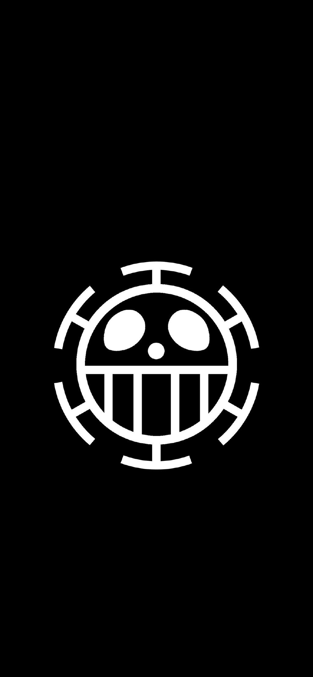 海盗卡通船标高清手机黑白壁纸