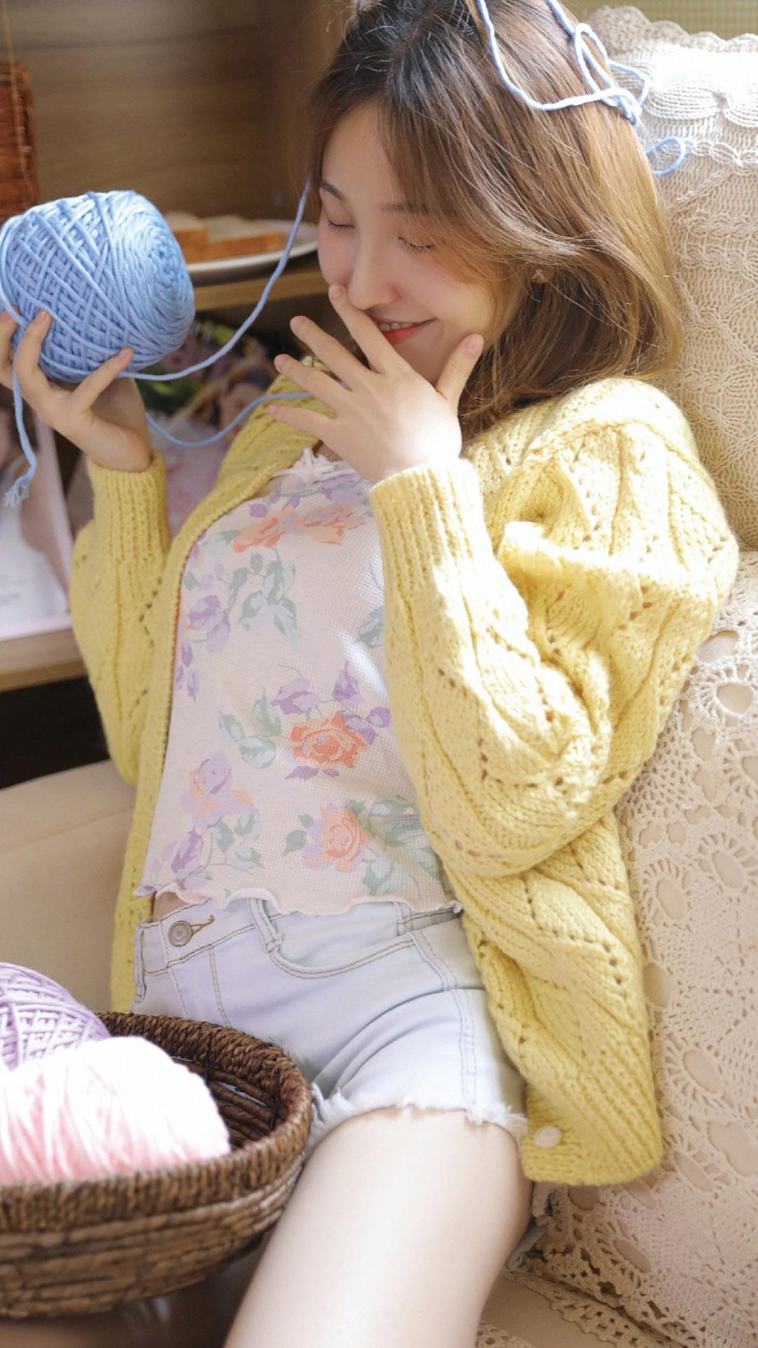 清纯小姐姐私房睡衣长腿玉足诱惑写真集
