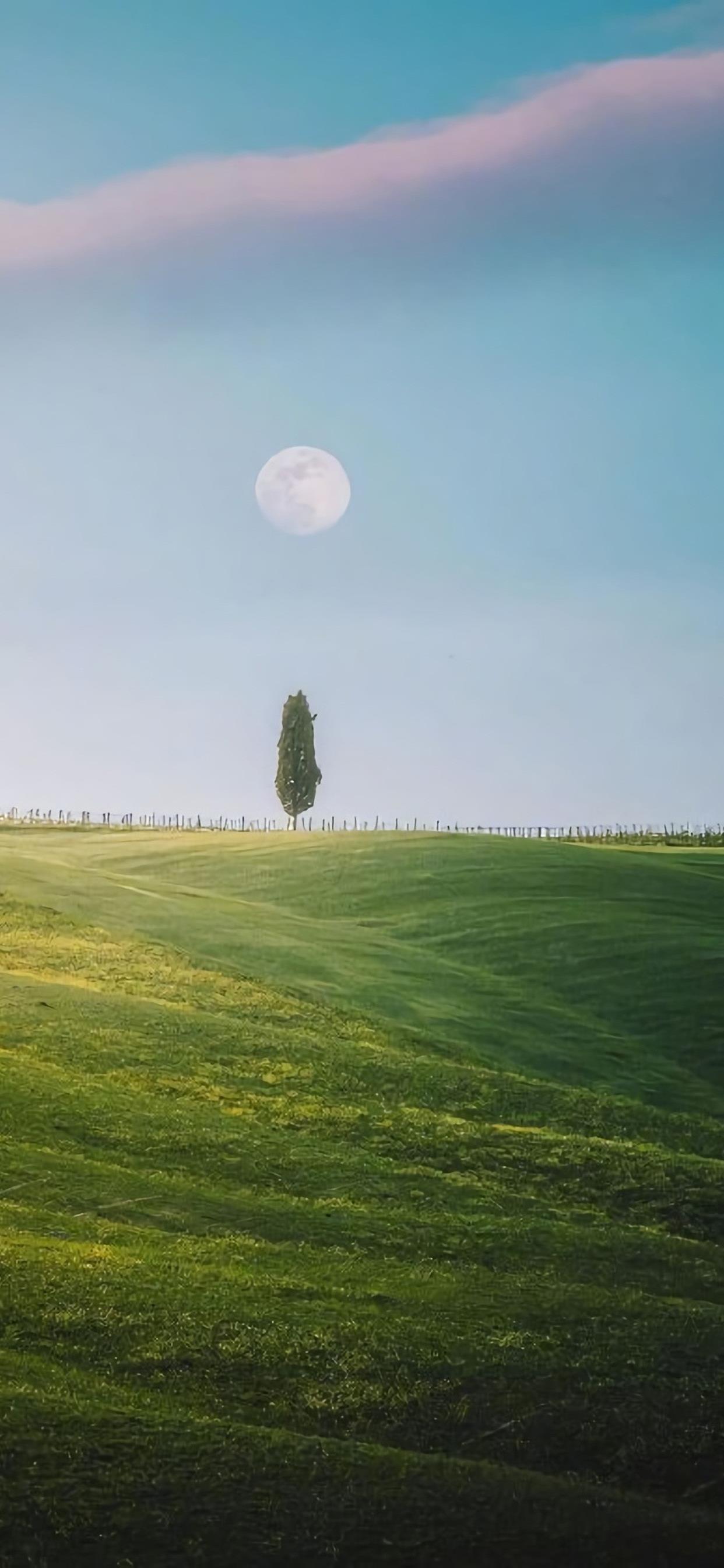 青山绿水田园风景高清护眼壁纸