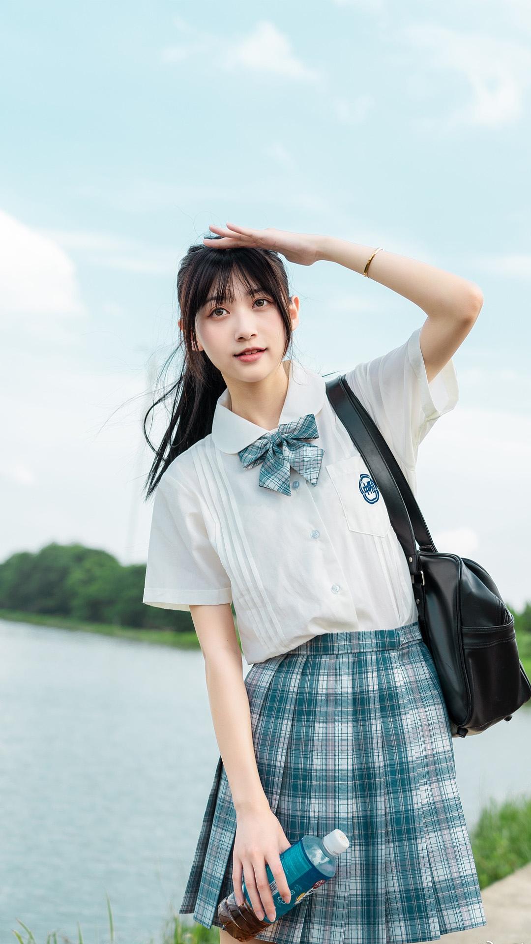 日系jk少女清纯图片
