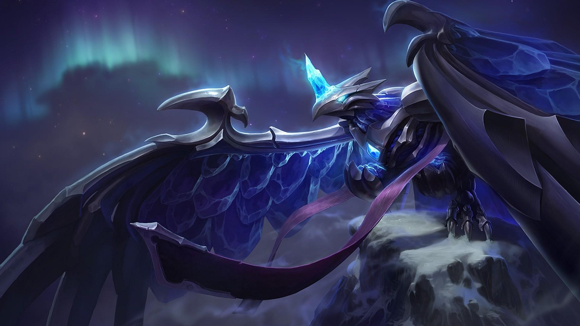 大翅膀的翼族怪兽图片