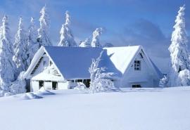 冬日雪景桌面壁纸
