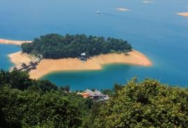 广东河源万绿湖风景桌面壁纸